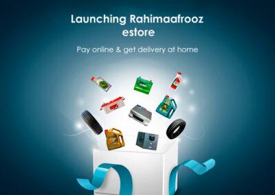 Rahimafrooz estore web banner