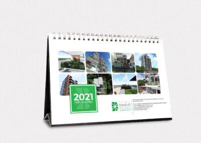 Desk calendars 2021 (  Barakha housing)